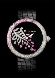 """KSK """"luxury as a way of life""""//Chanel Joaillerie pink and white diamond watch. Amazing Watches, Beautiful Watches, Cool Watches, Wrist Watches, High Jewelry, Jewelry Accessories, Fashion Accessories, Lila Gold, Ring Armband"""