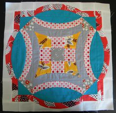 Cool design using Sew Kind of Wonderful's Quick Curve Ruler