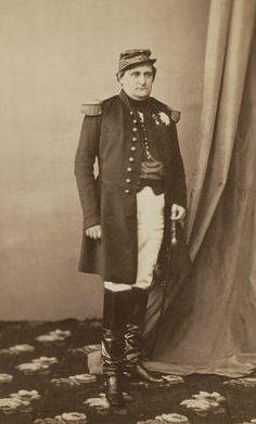 Napoleon Bonaparte ('Plon Plon') , zoon van Jerome Bonaparteen Catharina van Wurttemberg in 1860