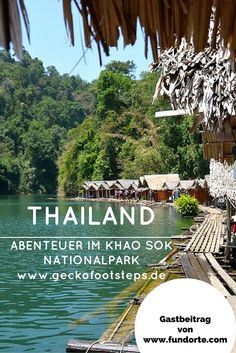 Sleepless nights in floating huts, encounters with spiders and flooded crevices. Read about Laura's experiences in Khao Sok National Park here. The post Thailand – Adventure in Khao Sok National Park appeared first on Woman Casual. Thailand Destinations, Thailand Travel Tips, Asia Travel, Travel Destinations, Thailand Honeymoon, Backpacking Thailand, Travel Info, Koh Lanta Thailand, Bangkok Thailand