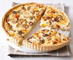 Sýrovo-cibulový koláč (www.albert.cz/recepty)