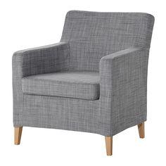 KARLSTAD Kreslo IKEA Nezaberie veľa miesta. Sedák vyplnený Vysoko pružnou penou a polyesterovými vláknami vám zaručí veľmi pohodlné sedenie.