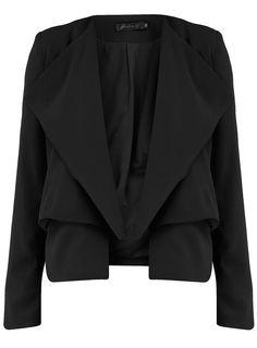 stylish blazer, perfect with a sleeveless dress Lace Blazer, Fashion Beauty, Womens Fashion, Petite Outfits, Mode Style, Fashion Online, Women Wear, Normcore, Stylish