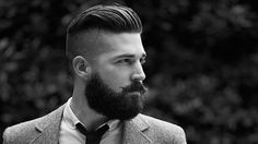 Slicked Back Style with Skin Fade