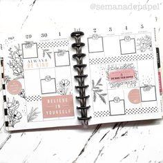 Agenda Planner, Planner Layout, Goals Planner, Planner Pages, Planner Ideas, Life Planner, Happy Planner, Create 365, Planner Decorating