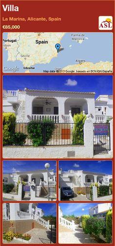 Villa in La Marina, Alicante, Spain ►€85,000 #PropertyForSaleInSpain