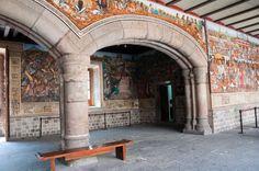 Tlaxcala de Xicoténcatl, Tlaxcala Mexico, mural La Historia de Tlaxcala y su aportación a, lo Mexicano