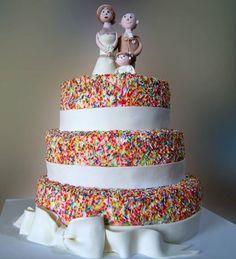 Vermicelli wedding cake