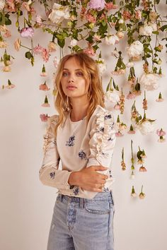 The epitome of spring fashion. When you boil down this Resort '18 collection from ASTR, that's really what it comes down to. Florals galore, pastel colors, ruffles...
