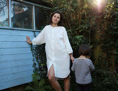 Linen Tunic Dress Tutorial