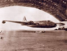 'RAAF Un-Official' Canberra Mk20 A84-216 'Hangar Fly Through' Amberley C1970 - Photographer Unknown - via Wal Nelowkin