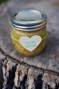 salsa verde- canning recipe // Swede Cottage Farm // #canning #homestead