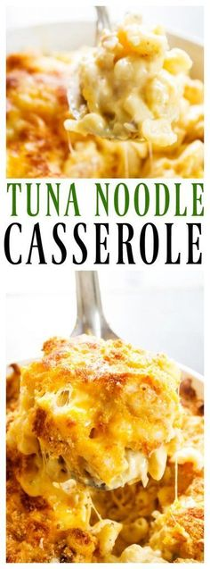 New Pasta Tuna Recipes Healthy Noodle Casserole 63 Ideas Tuna Casserole Recipes, Tuna Recipes, Casserole Dishes, Seafood Recipes, Gourmet Recipes, Cooking Recipes, Recipies, Noodle Recipes, Lunches