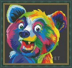Gallery.ru / радужный медвежонок2 - Радужное - Norsvet