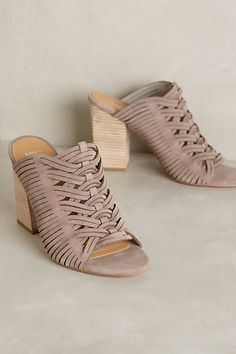 Belle by Sigerson Morrison Faline Mules #anthropologie