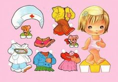 Printable Paper Dolls: Free Paper Dolls and Clothes for Kids By blancaverome