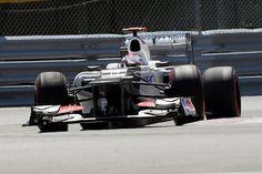 Kamui Kobayashi (JPN) Sauber C31. Formula One World Championship, Rd7, Canadian Grand Prix, Qualifying Day, Montreal, Canada, Saturday, 9 June 2012