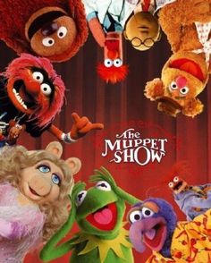 Muppets Mini Poster - Cast: Kermit, Piggy, Fozzie, Gonzo, Beaker