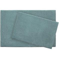 Bath Studio Plush Memory Foam Chenille Cushioned Bath Mat Color: Marine Blue, Size: x Linen Store, Marine Blue, Bath Mat Sets, Fine Linens, Bath Rugs, Memory Foam, Things That Bounce, Plush, Surface 2
