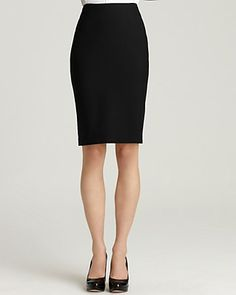 The classic pencil skirt can be corporate or casual so great to travel with. Find one in tropical wool to wear all year. Tailor it to so it's fitted enough to show your curves and with room enough to show you're a lady. Works great with the Brooks Brothers no-iron shirts, a t-shirt, jacket or cardigan. It's an all purpose item.