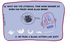 #lawsuit wine theme