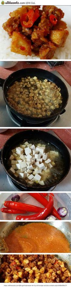 Indonesian Stir-fry Chili 'tempe' and Tofu ~ Lombok Style