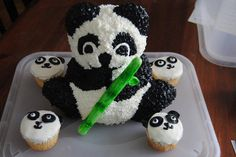 Panda Birthday Cake made by Brianna