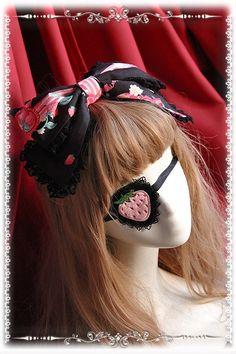 Infanta ~The Strawberry Kitchen Maid~ Lolita Jumper Dress$93.99 - My Lolita Dress