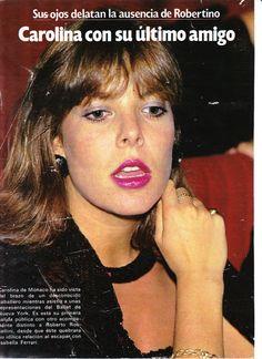 Princess Caroline of Monaco Princess, Royal Princess, Philippe Junot, Princesa Carolina, Monaco Royal Family, Ballet, Charlotte Casiraghi, Grace Kelly, Makeup Looks
