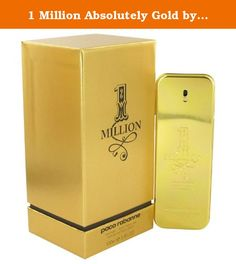 1 Million Absolutely Gold by Paco Rabanne Pure Perfume Spray 3.3 oz for Men. Show off your masculine side with 1 Million Absolutely Gold a men's fragrance from the design house of Paco Rabanne. Launched in 2008 this cologne has a warm spicy aroma with subtle citrus and floral tones. Its notes include blood mandarin cardamom rose neroli and cinnamon all of which combine to create a long-lasting scent that's sure to boost your confidence and draw attention. One or two sprays of this...