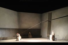 Dialogues des Carmélites from Grange Park Opera 2013. Production by John Doyle. Set and costumes by Liz Ascroft.