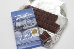 Duffy's Honduras Indio Rojo 72%  Made from single origin Xoco Criollo cocoa beans, this is a strong dark chocolate with sweet currants, tangy orange and a raisin and coffee aftertaste.