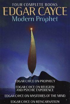 Edgar Cayce: Modern Prophet: Edgar Cayce on Prophecy; Edgar Cayce on Religion and Psychic Experience; Edgar Cayce on Mysteries of the Mind; Edgar Cayce on Reincarnation by Mary Ellen Carter, http://www.amazon.com/dp/0517697025/ref=cm_sw_r_pi_dp_cjXIrb1457XRD
