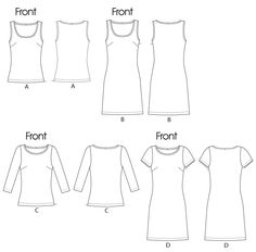 McCall 6355 Palmer/Pletsch tees and dresses
