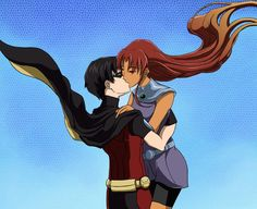 The more I think about it, the more I want to be Starfire & Robin