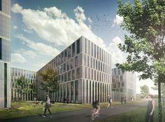 Leiden University New Science Campus / JHK Architecten + Inbo