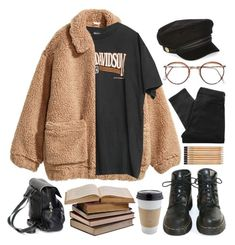 Monday Morning by brigi-bodoki on Polyvore featuring Harley-Davidson, H&M, Marc by Marc Jacobs, River Island and Dr. Martens