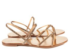 Ebbie, skinny crystal thong sandal I Pedro Garcia Shoes Spring-Summer 2015 I Made in Spain