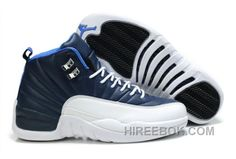 newest 4a000 ed5fa Air Jordan 12 Retro GS Obsidian Authentique Mens Nike Air, Jordan 13, Air  Jordan