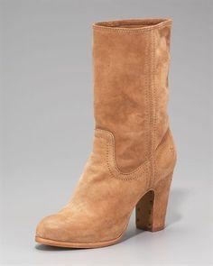 frye mirabelle short suede boot