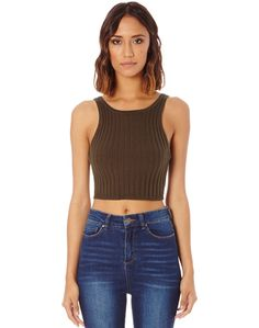 Shop and buy the latest in women's fashion and clothing online at Glassons.com. Check out this V Back Crop - This versatile crop features ribbed detailing and a v back, the perfect cropped length for high rise shorts and jeans.
