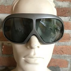 Deep on 80's look! Pierre Cardin vintage sky sunglasses