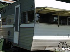 Vintage 1968 Kustom Koach travel trailer $1,600