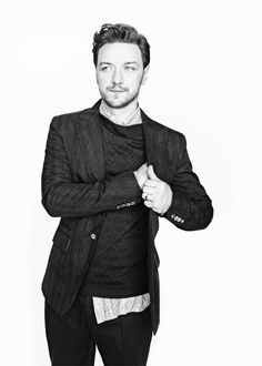 He's been here before, but I just couldn't resist. James McAvoy, looking rather dashing