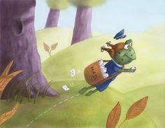 illustration of Digital, Humor, Children, Children's Books
