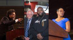 Stream on MLK legacy with Bernie...