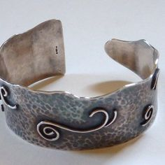 Image for Caroline Jones Jewellery - Waves Cuff Bangle