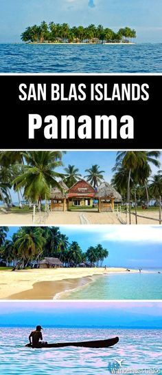 San Blas Islands, Panama. Find out how to travel to the San Blas Islands in Panama from Panama City, where to visit, what to eat and which paradise beach to relax on!