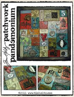 """Tim Holtz - This design is a little """"over the top"""" for me, but I love the concept"""