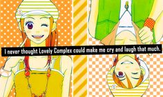 """""""welcome to otaku confessions"""" confessions currently: OPEN ---- To submit a confession, go to my inbox. If your confession relates to something specific, mention it! (mention the anime/manga) Submit. Cute Couple Art, Cute Couples, Koizumi Risa, Lovely Complex Anime, Nerd Show, Complex Art, Otaku Issues, Cute Romance, Anime Qoutes"""